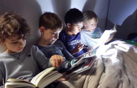 Lesenacht in der Montessori-Schule Berlin