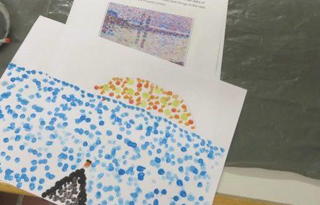 Kunst in der Montessori Schule Berlin