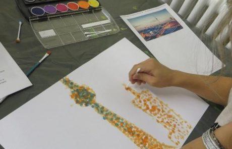 Kunst von Schülern der Montessori-Schule Berlin